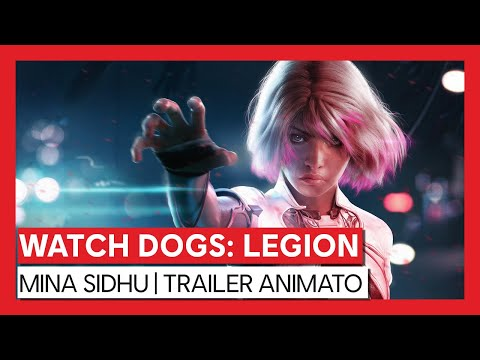 Watch Dogs: Legion - Mina Sidhu   Trailer Animato