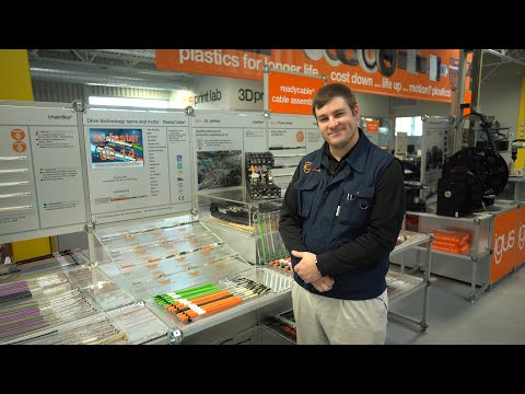 igus® Booth Tours - chainflex® Cables - Drive Cables
