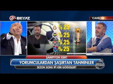 (..) Beyaz Futbol 16 Ağustos 2015 Kısım 2/3 - Beyaz TV