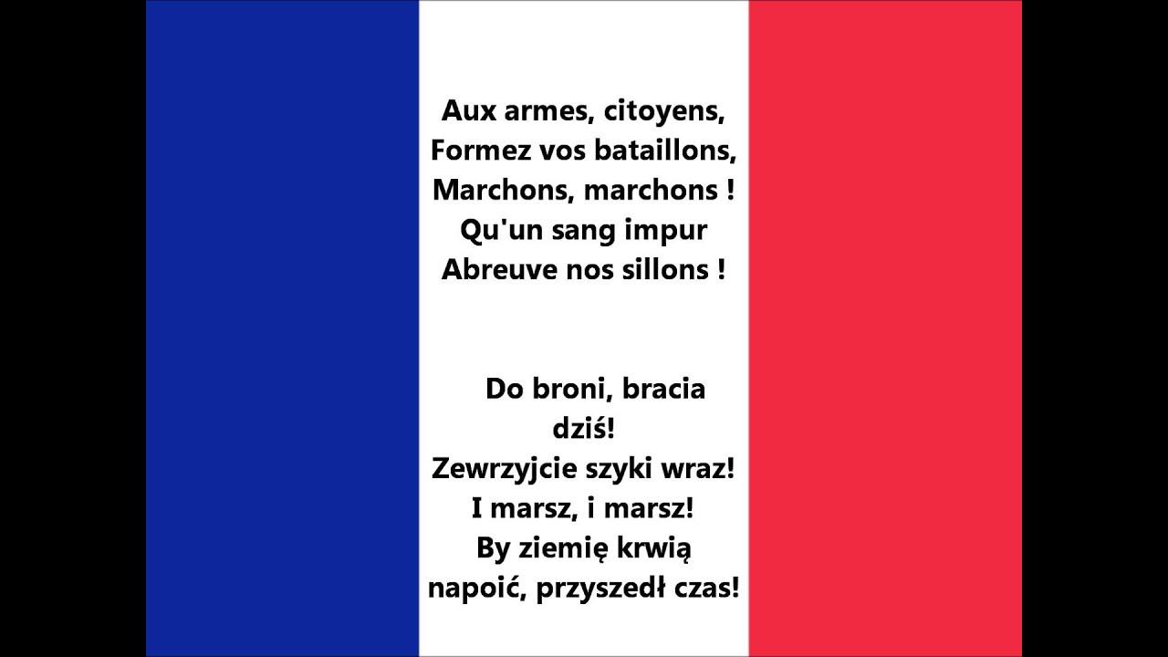 Hymne Frankreich Text Deutsch