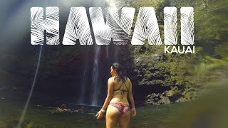 Solo hiking and camping the Kalalau trail| Dolphins, helicopter ride | Kauai, Hawaii | GoPro