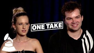 Marian Hill on Julia Michaels, Playing Festivals & More | One Take