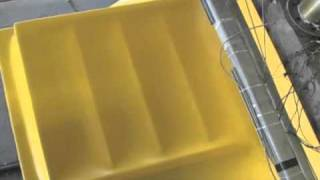 ValuStair™ Yellow Thermoplastic Staircase