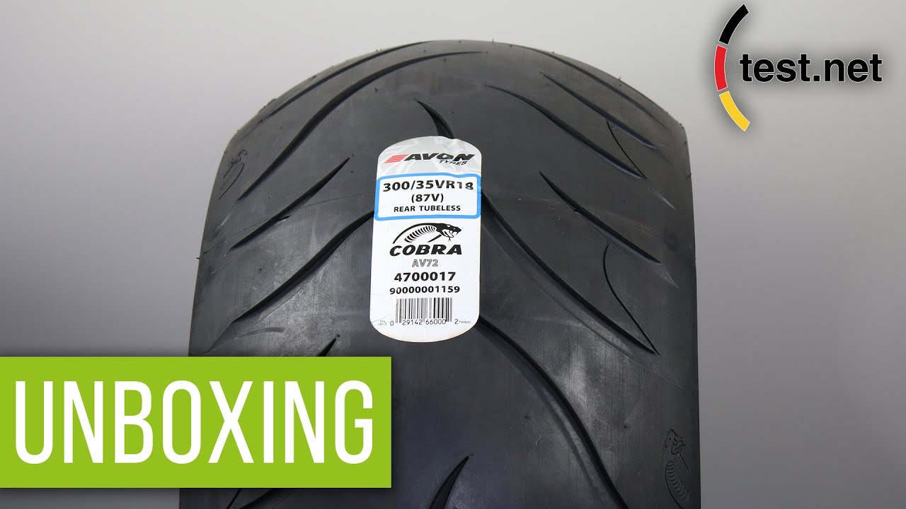 260//40R-18 Avon Tire Cobra Chrome Rear Tire