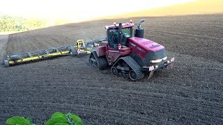 Case Quadtrac 600 & Swifter ST17000 | Case in Action! | Agriculture