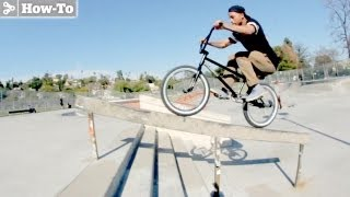 How to Rail Ride with Chris Brown - TransWorld RIDEbmx