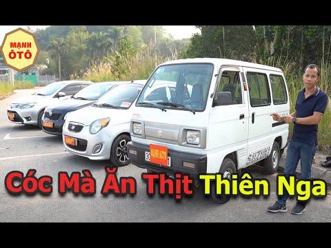 Ô Tô Suzuki 7 Chỗ Su Cóc 2009 Giá Rẻ Giật Mình - Mạnh Ô Tô