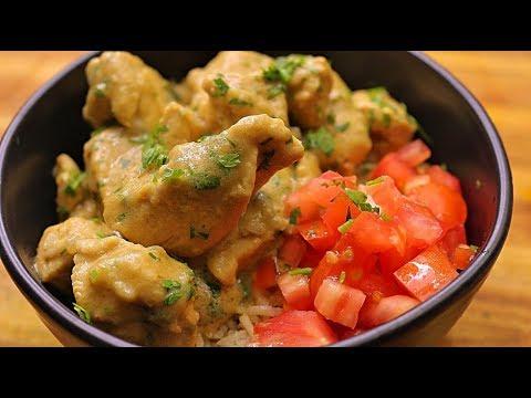 Thai inspired Green Curry Chicken – coconut milk – Thai recipes