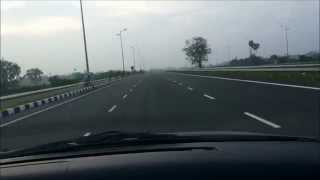 Misty morning Drive: Tambaram Avadi New State Highway [Under Construction]