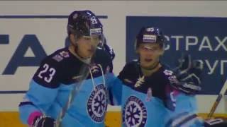 Vlad Naumov sick assist on Joonas Kemppainen first KHL goal