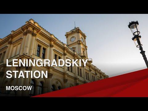 Leningradskiy Railway Station, Moscow