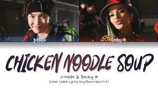 Download lagu BTS j-hope - Chicken Noodle Soup (feat. Becky G) (Lyrics Eng/Rom/Han/Esp/가사)