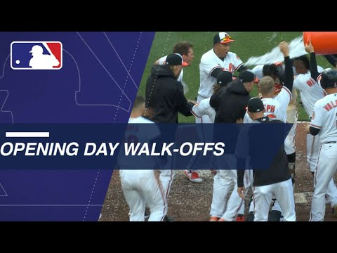 A's, Braves and O's walk off on Opening Day