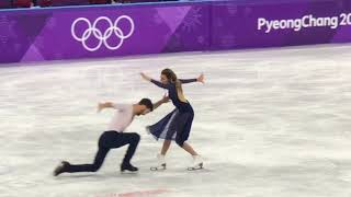 Cizeron and Papadakis 2018 PyeongChang Olympic free dance new world record 123.35