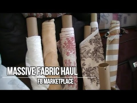 Massive Fabric Haul  | FB Sale Page