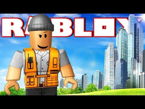 MAKING MY OWN CITY IN ROBLOX