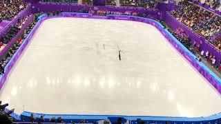 平昌オリンピック フィギュアスケート団体戦男子SP 2月9日 宇野昌磨選手...