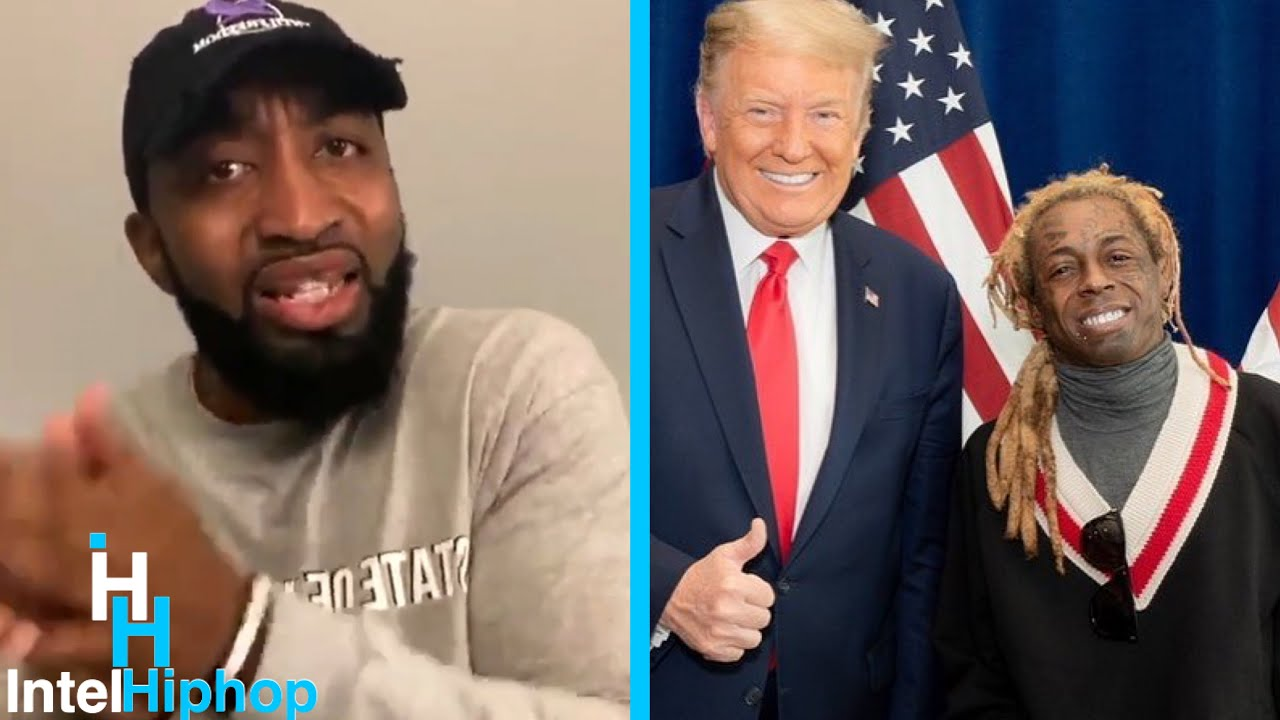 """Mysonne furious with lil Wayne for working with Donald trump """"you've been on lean for 10 years"""" 👀"""