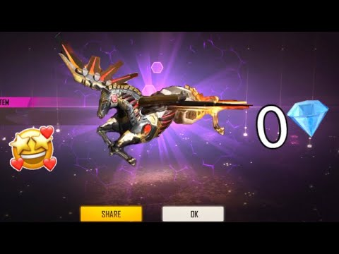 Crazy Luck 😱 Try To Get New SkyWing Skin 0💎 Free Spin 🔥 free fire