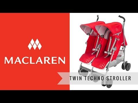 Twin Techno Maclaren Raincover