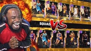 ALL 99 GALAXY OPAL LINEUP MATCH!! OPAL GIANNIS Is OVERPOWERED! NBA 2K19 MyTeam