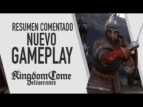 Kingdom Come: Deliverance - Nuevo Gameplay (resumen comentado)