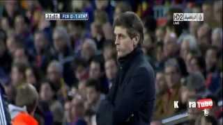 vuclip أهداف برشلونة و أتلتيكو مدريد 4-1 عصام الشوالي