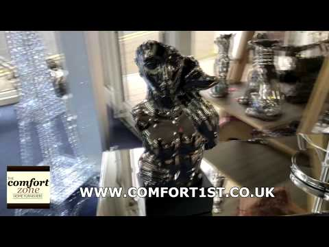 Silver Electroplated Kiss Statue Ornament