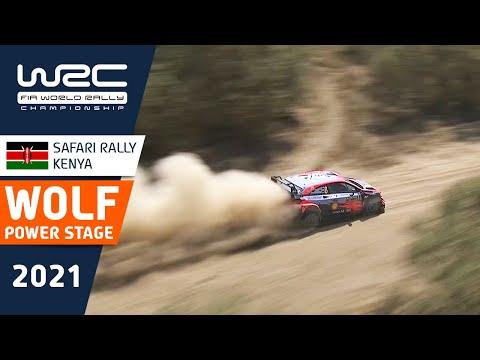 WOLF POWER STAGE Highlights - Showdown at WRC Safari Rally Kenya 2021