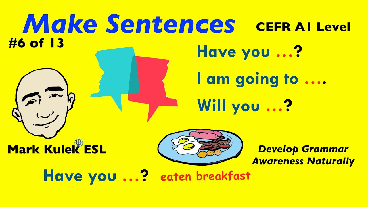 Have you?, I am going to, Will you? - Grammar patterns | Mark Kulek - ESL