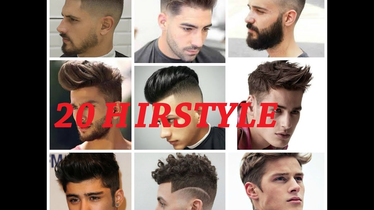 Top 20 Hairstyle for men 2017 -HD- - YouTube
