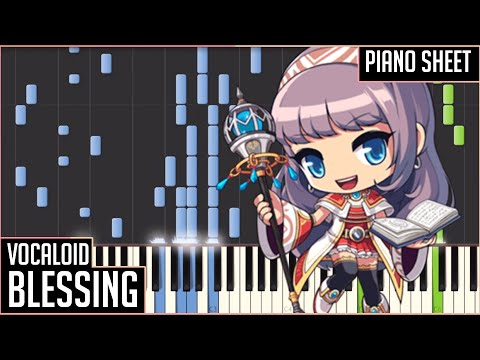 Blessings【VOCALOID】- PIANO DUET SYNTHESIA