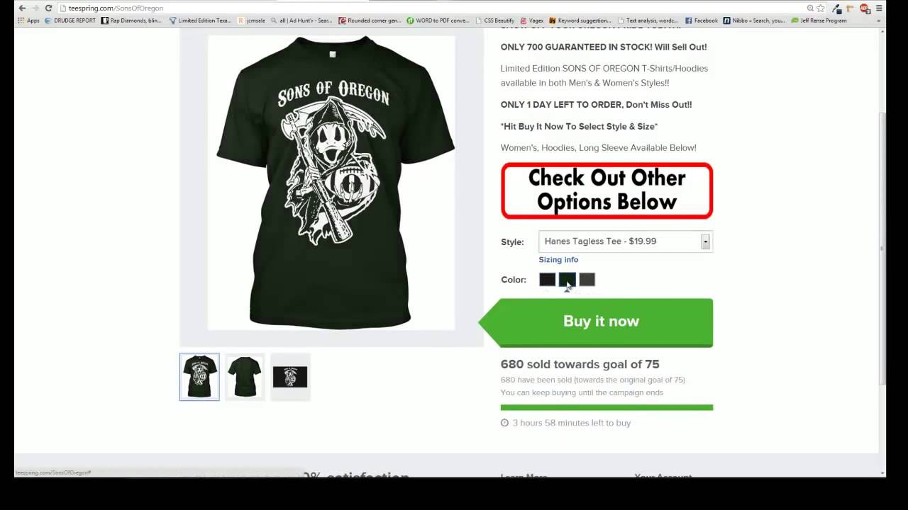 how to delete teespring campaign