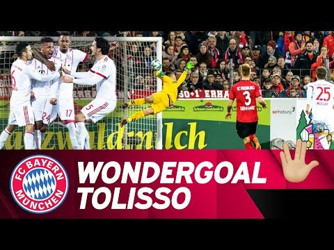 Practice Makes Perfect: Corentin Tolisso's Wondergoal vs. Freiburg!