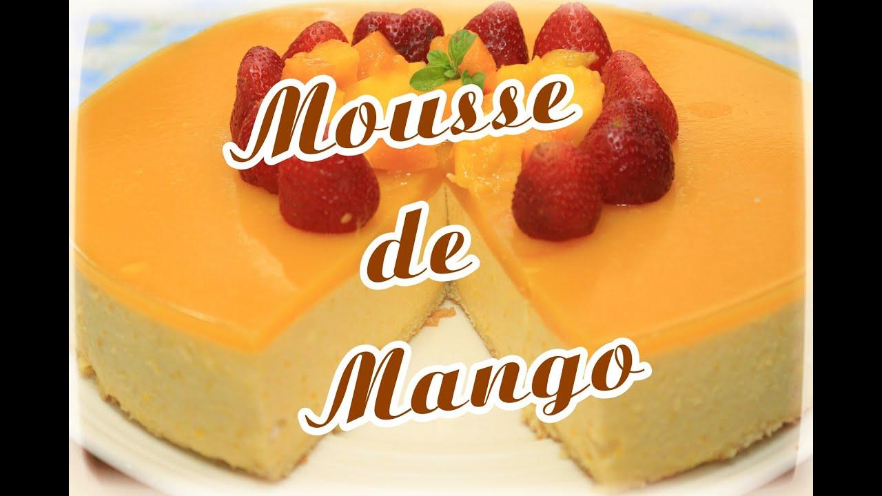 Como preparar mousse de mango cositaz ricaz youtube - Como hacer mousse de yogurt ...