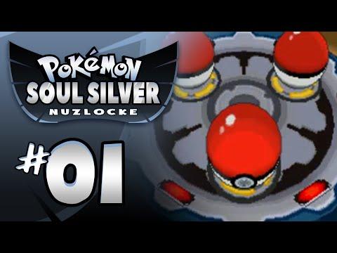 Let's Play Pokemon Soul Silver Randomizer w/ NiPPs #01   WE GOT STARTERS