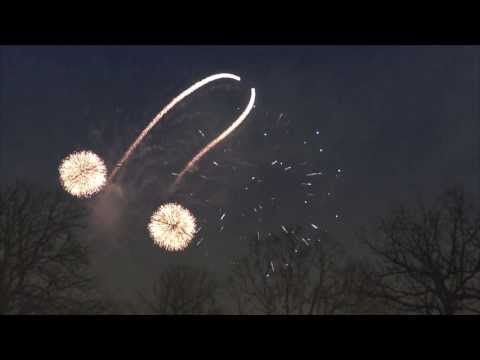 This Is How They Do Fireworks In Glasgow