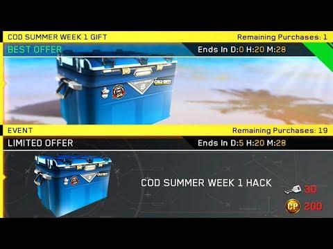 *NEW* OPENING ALL 20 SUMMER WEEK 1 HACKS | INFINITE WARFARE | QUARTERMASTER HACK