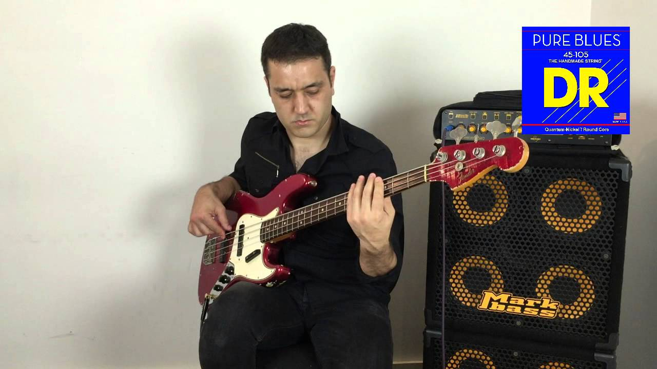 Dr Strings Pure Blues Bass Demo Youtube