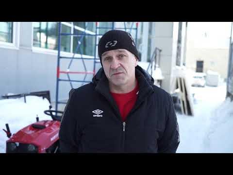 Андрей  г. Тюмень. Отзыв на Минитрактор Митракс Т10 и Лопата-отвал 1000 для снега