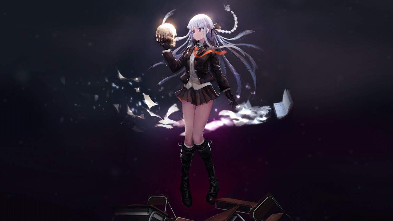 kyouko kirigiri wallpaper engine live desktop youtube