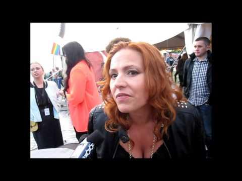 Stockholm Pride 2013: Interview with Valentina Monetta (San Marino 2012,2013 & 2014)