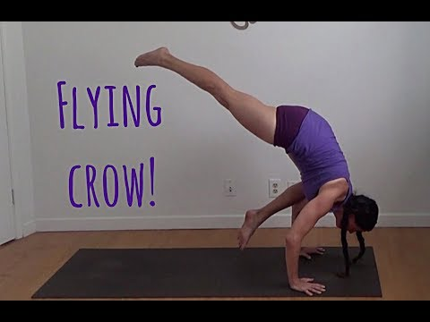 eka pada bakasana flying crow yoga arm balance shana meyerson YOGAthletica