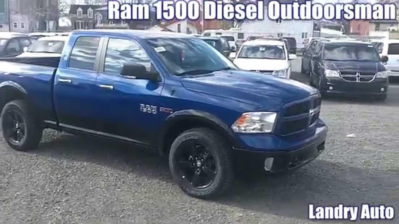 2014 Ram 1500 Diesel Outdoorsman à vendre Montréal - Laval | Landry ...