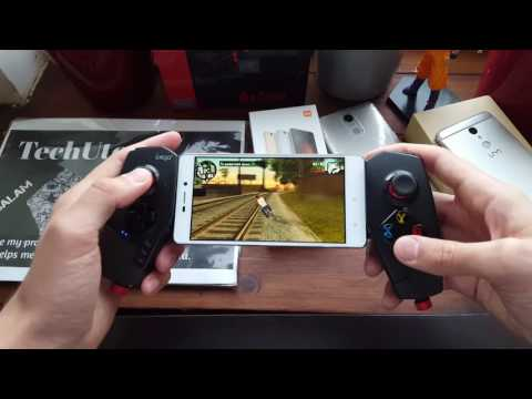 Xiaomi Redmi 3S GTA San Andreas gaming test gameplay with gamepad (Snapdragon 430)3X/3GB RAM
