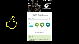 46.How to install MORTAL KOMBAT X on ANDROID