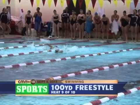 CMNtv Sports - Girls Swimming Troy High vs Troy Athens Sept 4, 2013