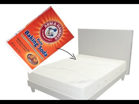 Sprinkle baking soda on you bed, and see what happens!