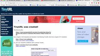 How To Use TINYURL To Create Small Links