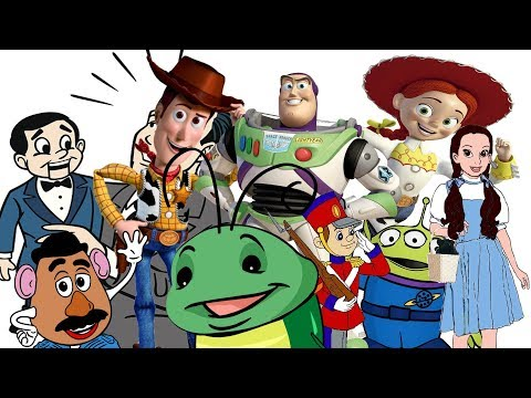 Как могли выглядеть персонажи мультфильма История игрушек 4